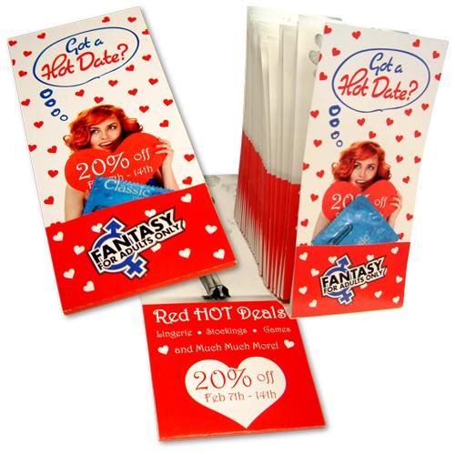 Condom Rack Card